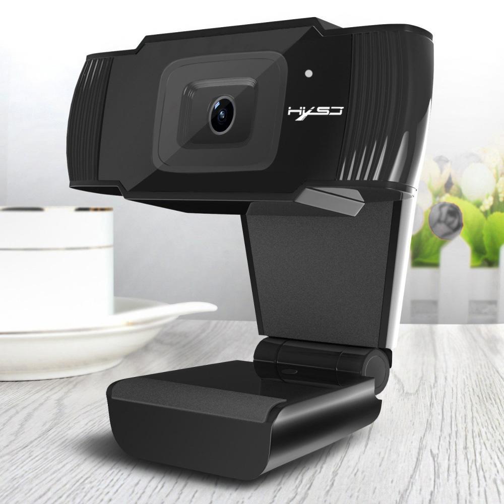 HXSJ S70 HD Webcam 5 Megapixel apoio 720P 1080 Video Call Autofoco Web Camera HD Webcams Para Computador Desktop PC Laptop