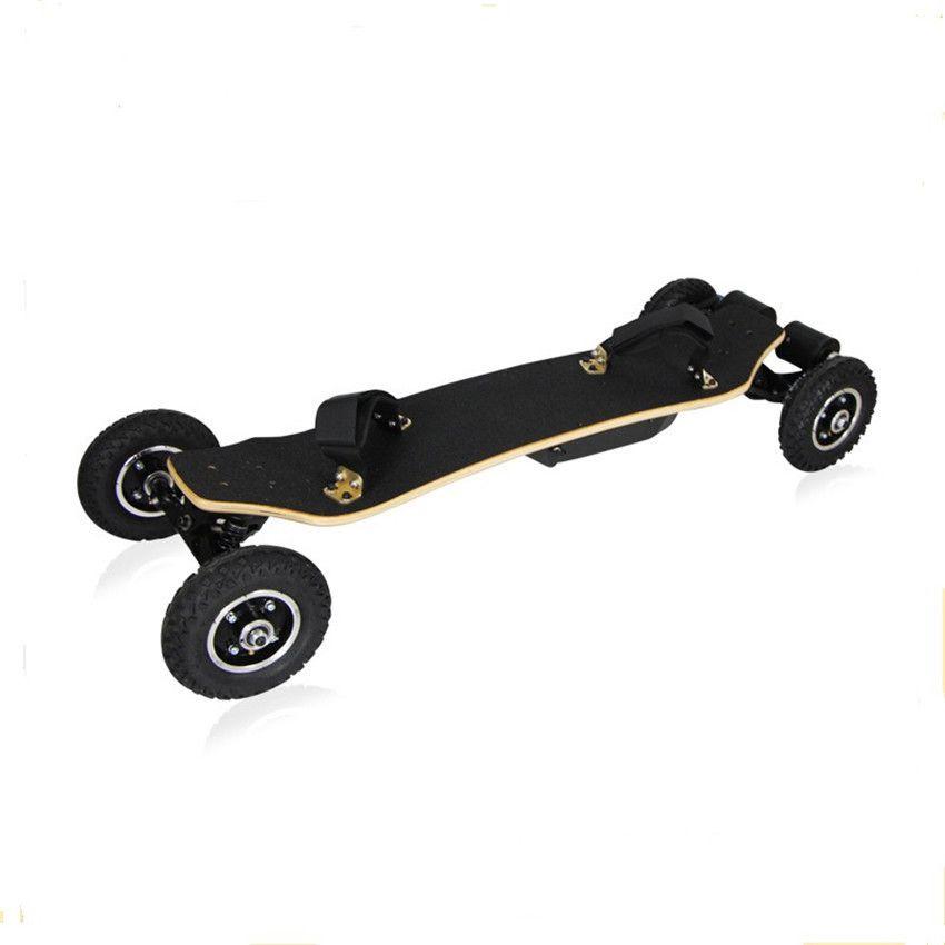 4 Wheel Electric Skateboard Dual Motor 1650W 11000mAh Off Road Electric Scooter Electric Longboard Mountain Board