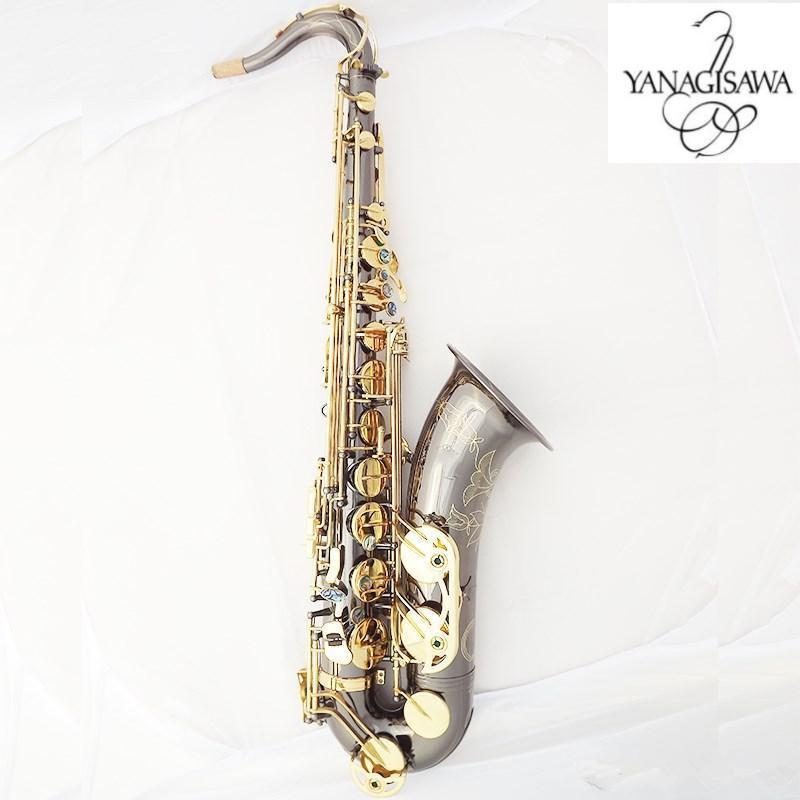 Yanagisawa New Tenor Saxophone High Quality Sax B flat tenor saxophone playing profession paragraph Music Black Saxophone free shipping