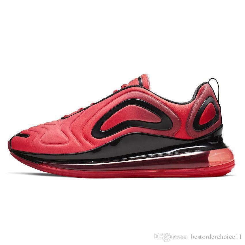 Compre Nike Air Max 720 720s 72c Airmax Betrue Pride Shoes Hombres Mujeres Be True Gilbert Baker Rainbow Flag Multi Triple Negro Tamaño A $75.12 Del