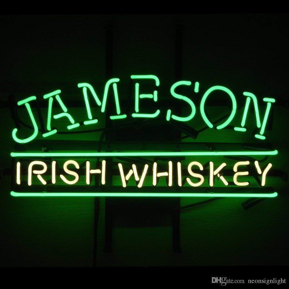 2020 Jameson Irish Whiskey Neon Sign Bar Pub Neon Sign