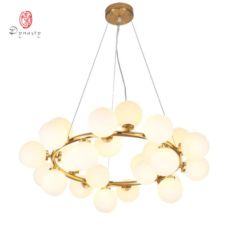 Art Decorative LED Bubble Pendant Lamp Hanging Lights Golden G4 Hotel Restaurant Lounge Loft Foyer Lobby Modern Fashion Lights Free Shipping