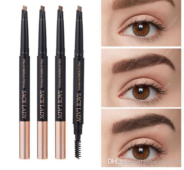 Crayon à Sourcils Maquillage Pen Brow professionnel maquillage pour les yeux Tint Peinture Sourcils Waterproof Ombre Cosmétique Marque Natural