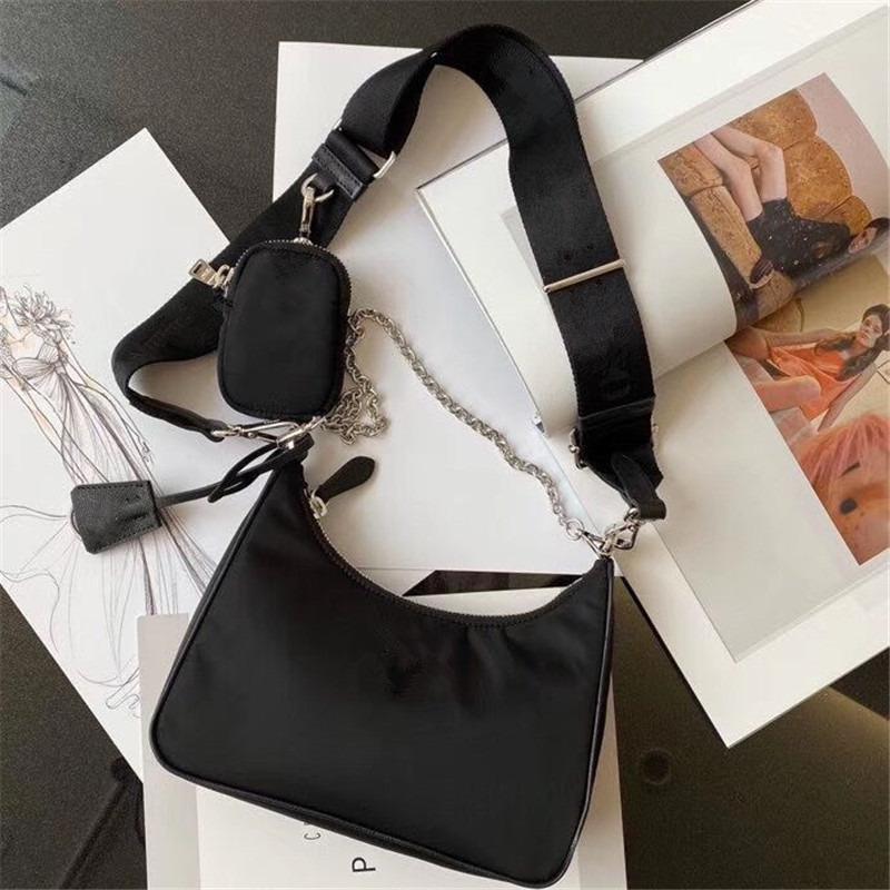 Women Purse Chest Pack Canvas 2020 Shoulder Messenger Bag Lady Chains For Handbags Presbyopic Fashion Shoulder Bag Designer Handbags To Akxs