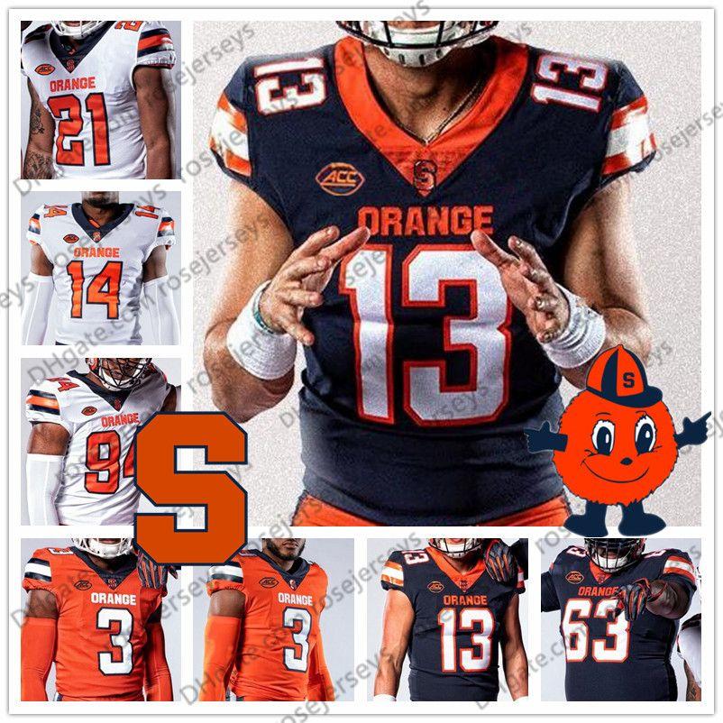 NCAA Syracuse Orange 9. Don McPherson 44 Ernie Davis Floyd Küçük 47 Joe Morris 88 John Mackey 23 Abdul Adams Futbol Jersey 4XL