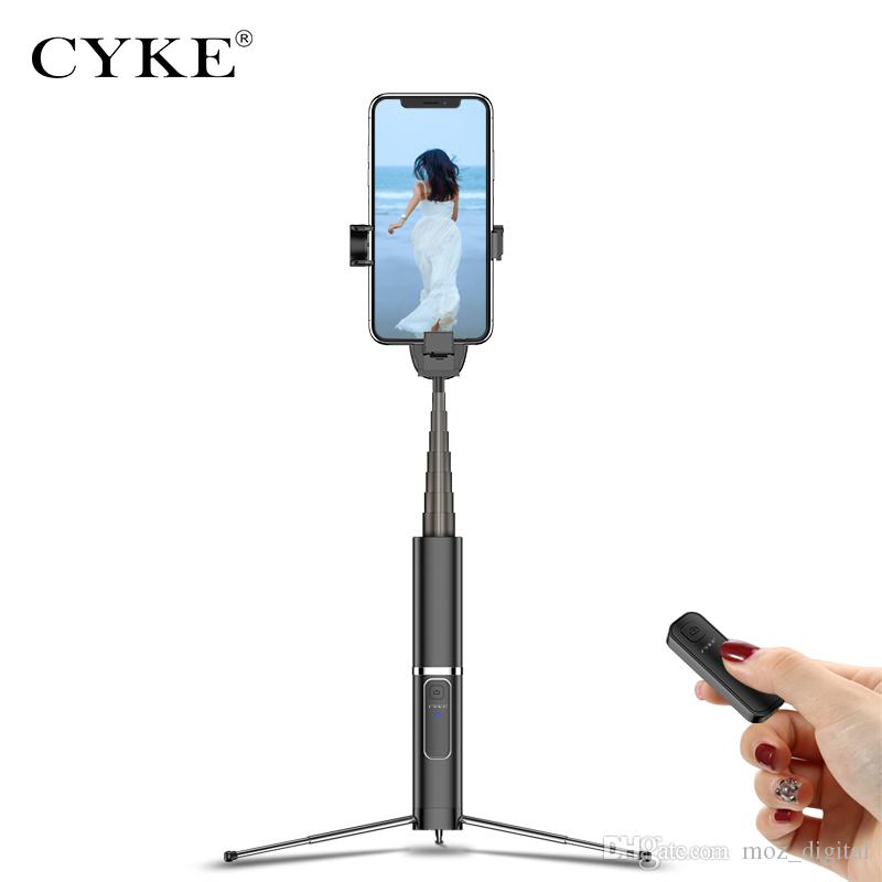 CYKE Phantom Bluetooth Selfie Stick Portable Handheld Smart Phone Camera Tripod with Wireless Remote For iPhone X Xiaomi Huawei Android