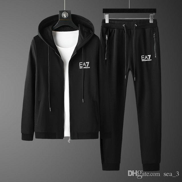 Herren Tracksuits Sweatshirts Anzüge Luxus Sport Anzug Männer Hoodies Jacken-Mantel-Männer Medusa Sportswear Sweatshirt Anzugjacke sets003