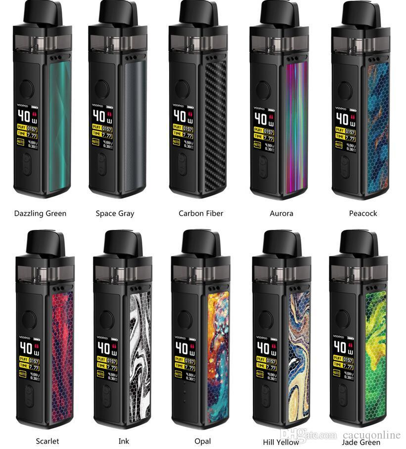 Authentic Voopoo VINCI Vape Pod System Kit e cigarettes 1500mah Manual Auto Modes 5.5ml Pods with PnP Coil