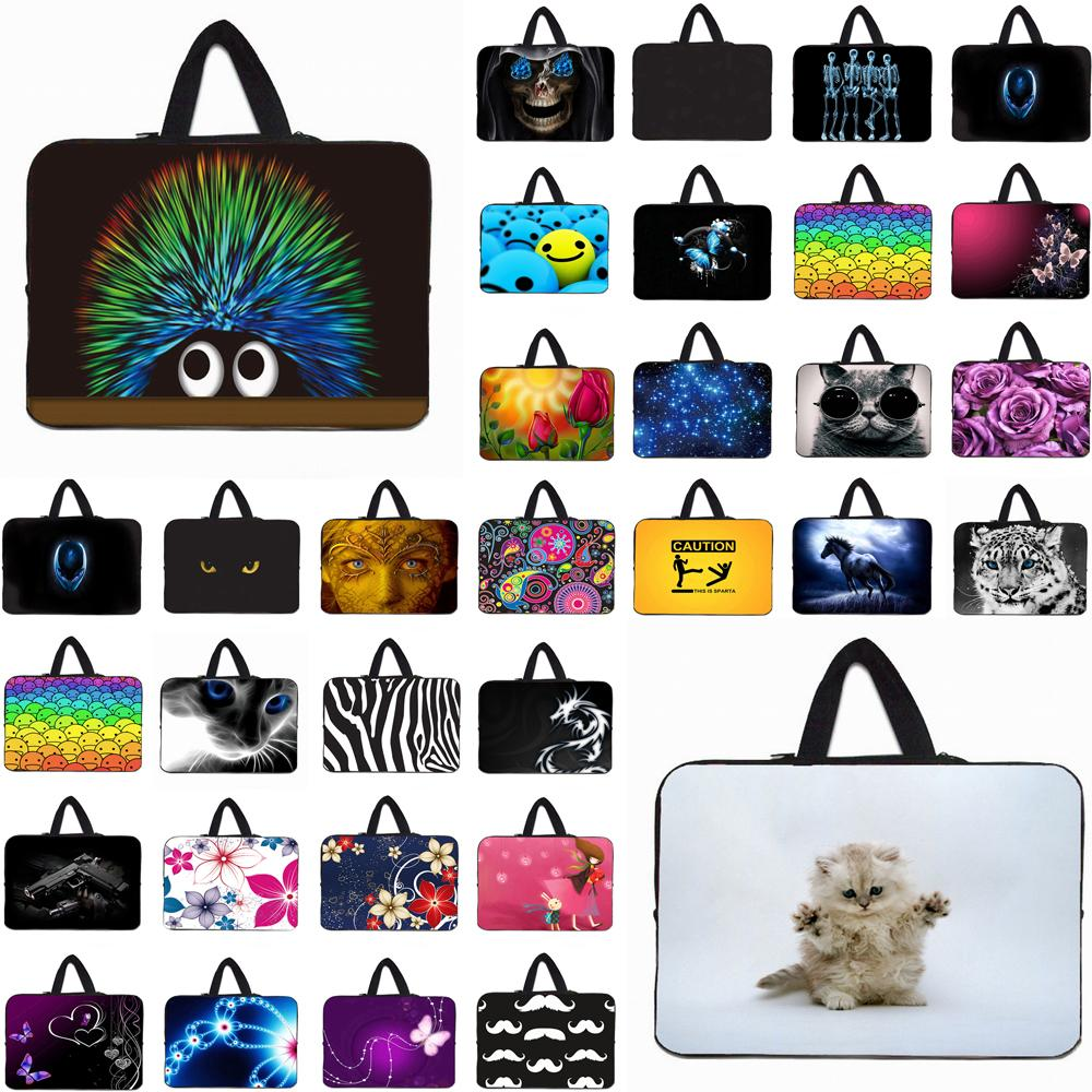 "10/"" 12/"" 13/"" 14/"" 15.4/"" 15.6/"" 17/"" Laptop Carry Sleeve Bag Cover Handle Case Pouch"