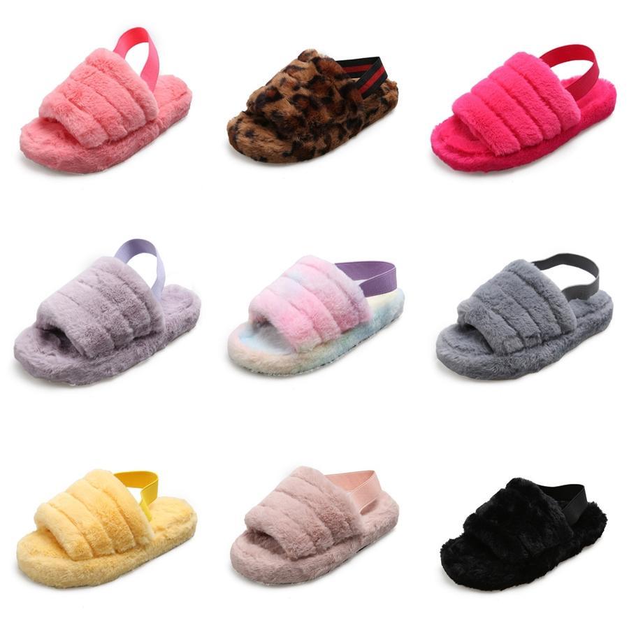 Erkek Maymun 821516 Açık Toed Kadınlar Spor Terlik 2020 Moda Terlik Düz Açık Platform Ayakkabı Kadınlar Plajı Yaz # 446