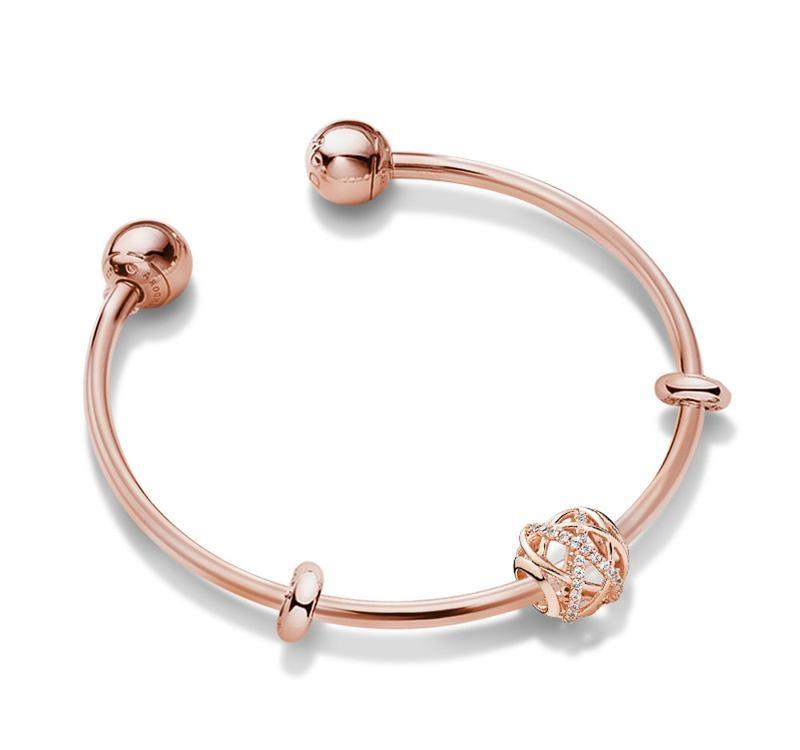 pandora rose gold bracelet canada