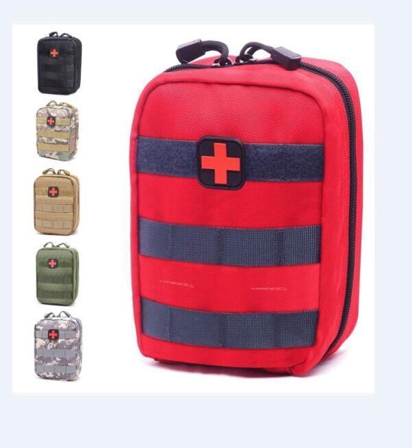إفراغ حقيبة للطوارئ أطقم التكتيكية الطبية الإسعافات الأولية كيت الخصر حزمة في الهواء الطلق التخييم المشي لمسافات طويلة للسفر رخوة التكتيكي الحقيبة البسيطة الأحدث 2020