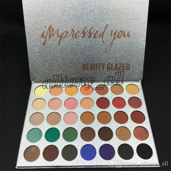 In STOCK! Hot Famous Brand Beauty Glazed make up set ,35 colors eyeshadow with fast shipping