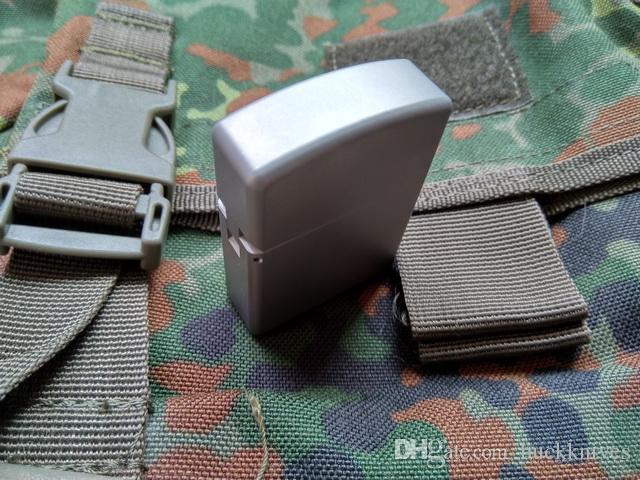 التصميم الأصلي zippo نمط cnc تشكيله الصلبة tc4 سبائك التيتانيوم edc diy outdoor الرياضة التخييم بقاء التكتيكية ولاعة firestar