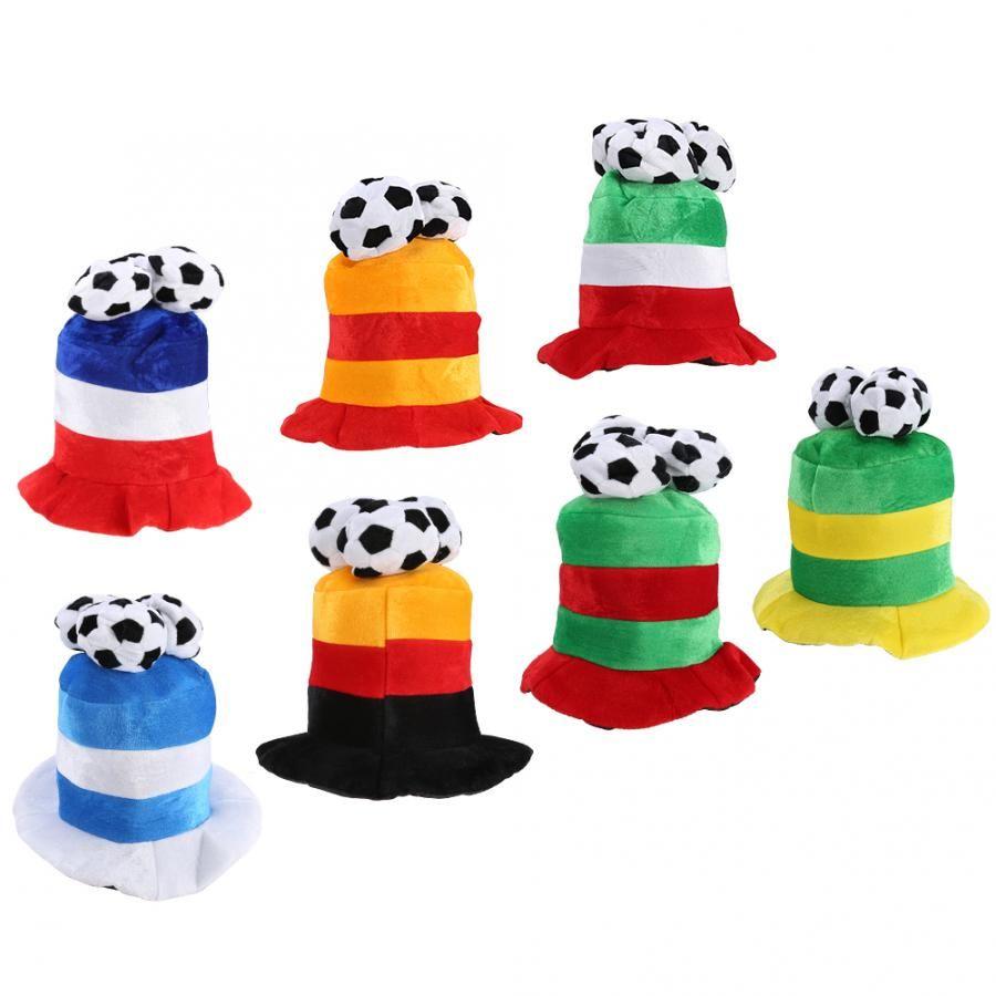 월드컵 축구 축구 대회 챔피언 모자 파티 의상 장식 키즈 헤어 액세서리