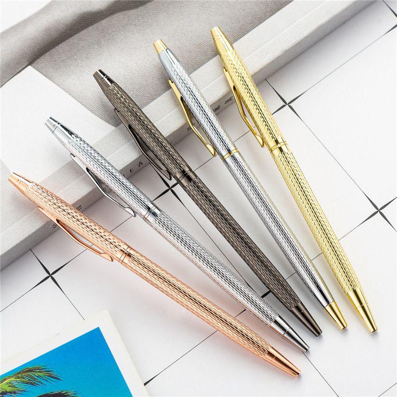 NEW الإبداعية المعادن أقلام حبر جاف الإعلان التوقيع القلم مكتب الزفاف الطالب المعلم مدرسة الكتابة مستلزمات القلم هدية
