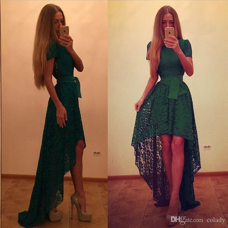 New Hot Women Lady Lace Short Sleeves Dress Formal Cocktail Party Wedding Sexy Long Dress Floor-Length Dress