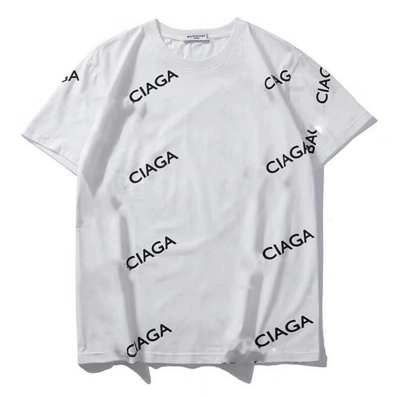 2020 Nueva camisa para hombre del verano caliente de la venta Tops Camisetas de manga corta para las mujeres Pareja de alta calidad de la camiseta tamaño asiático S-2XL Wholesale2