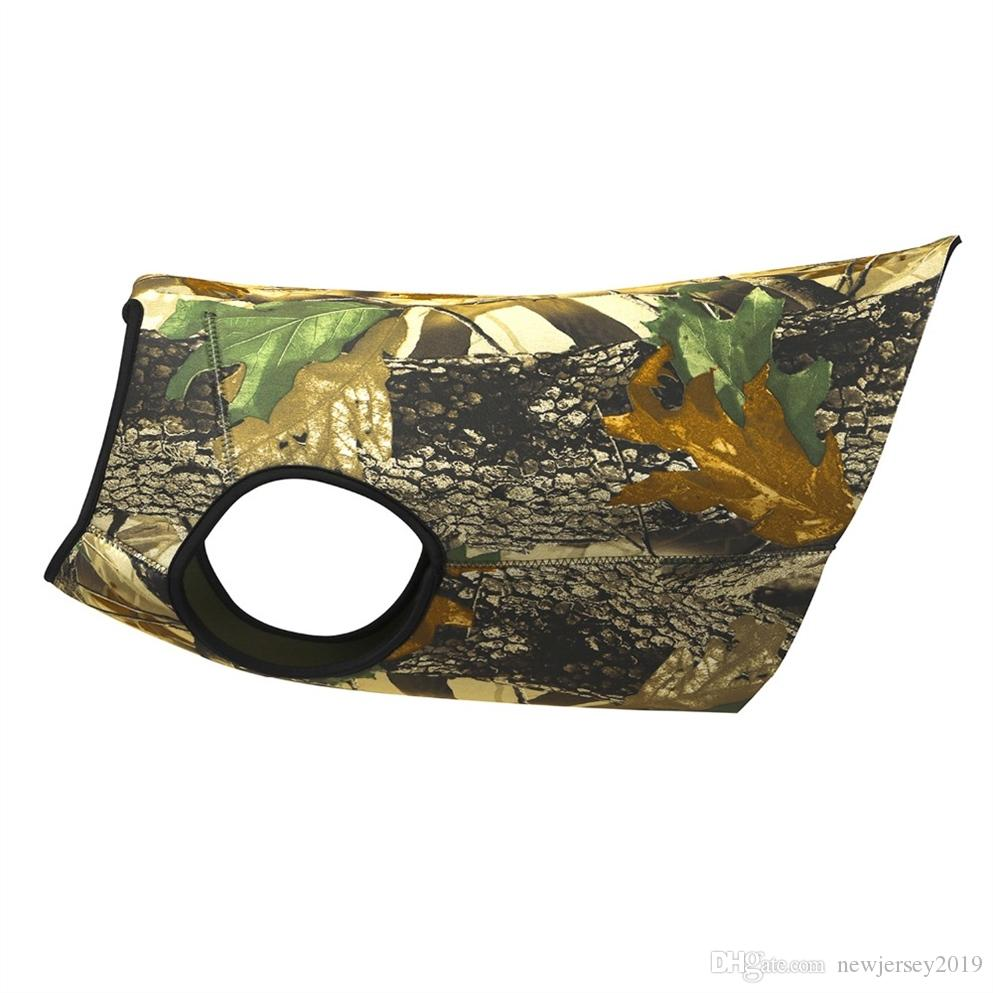 Tourbon Outdoor Hunting Dog Waistcoat Dogs Ves for Chest Protector Camo Jacket Clothing Neoprene Waterproof Size S #325391