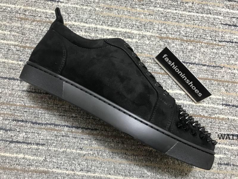 nouvelles chaussures étoiles cristal Vintage martin junior Spikes Orlato hommes plat rouge fonds gz kanye coureur formateur plate-forme triple ChaussuresWA13