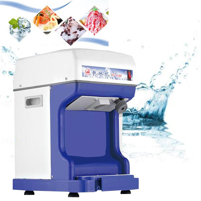 Quality Assurance Electric Shaved ice machine Milk Tea Accessories Ice-breaking utensils Fully household appliances Stainless steel