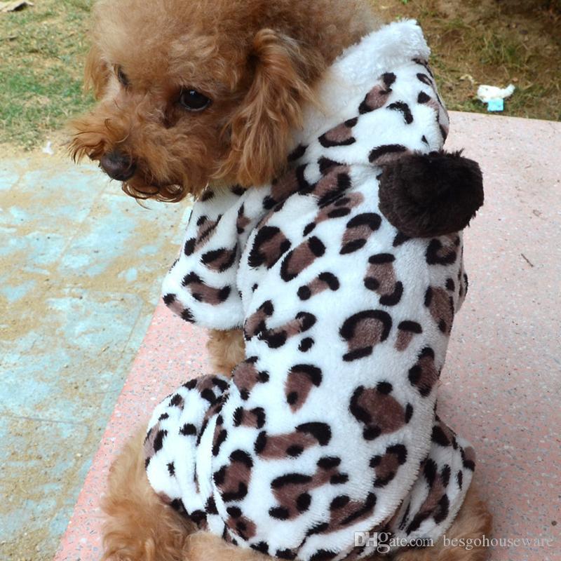 الشتاء الكلب مقنع معطف ملابس كلب صغير الملابس الأزياء pet جرو دافئ المرجان الصوف الملابس الرنة ندفة الثلج سترة bc BH0984-2