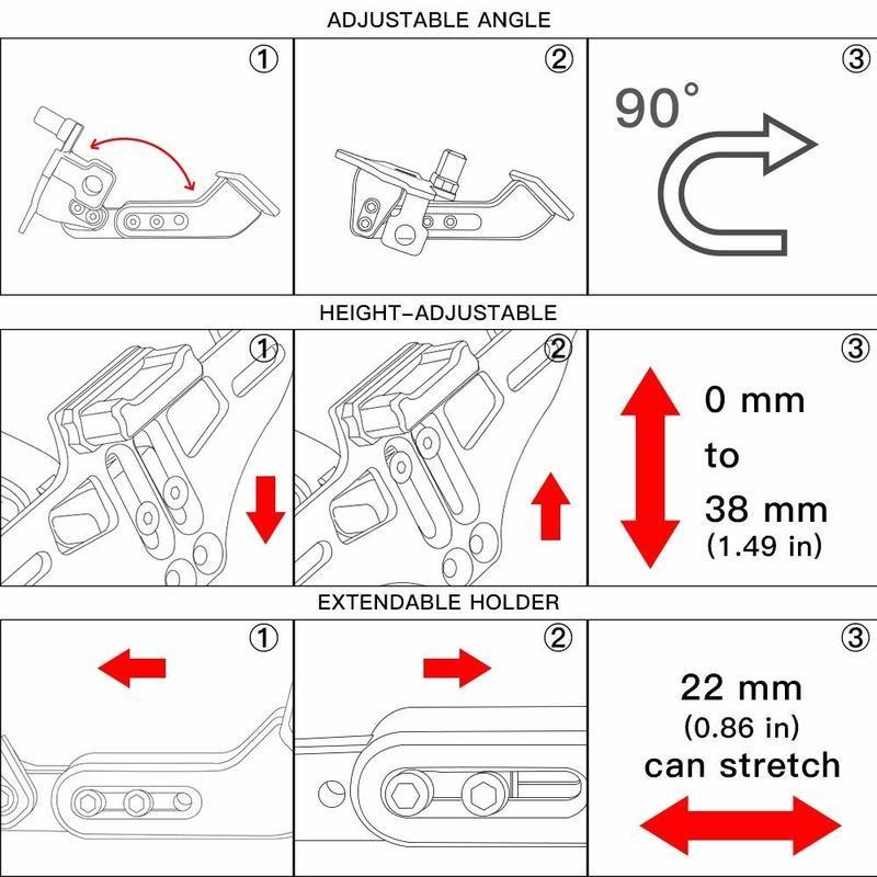 CNC License Plate Bracket Fender Eliminator For KTM 125 200 250 1190 Duke