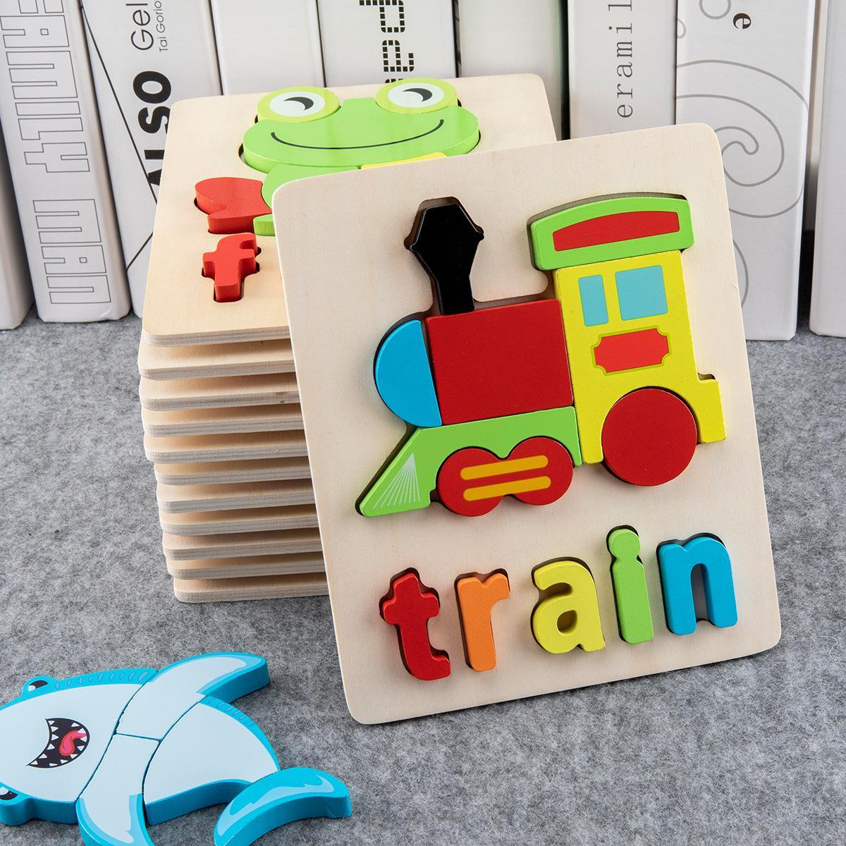 Детские деревянные буквы алфавита развивающие головоломки игрушки алфавит обучения головоломки для 3-7 детей бесплатная быстрая доставка