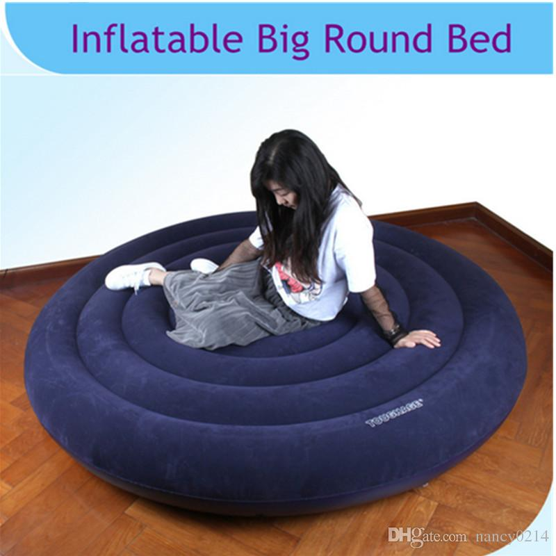 2019 New Design Inflatable Sex Round Bed Sex Furniture Soft Chair Sofa for Couple Relaxing Love Sofa Bedding Adult Games SM Products E5-102