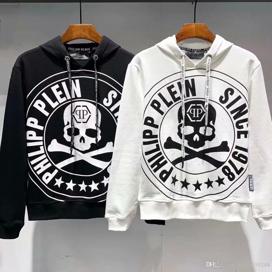 2020 Men Casual Loose Printed Hip Hop Sweatshirts Men Hoodie Pullover O Neck Long Sleeve Sweatshirt Men Clothing