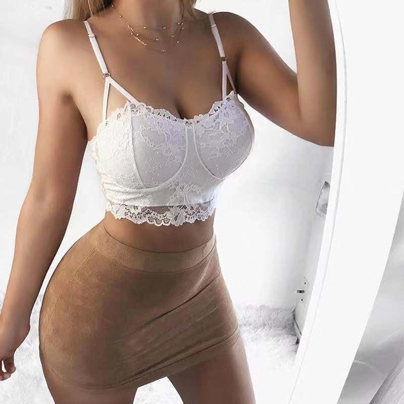 Kadınların Katı Renk Sütyen Yeni Seksi Dantel Dikişsiz Çelik Yüzük Rahat Bayan İç Çamaşırı Kalite Bayanlar Sütyen