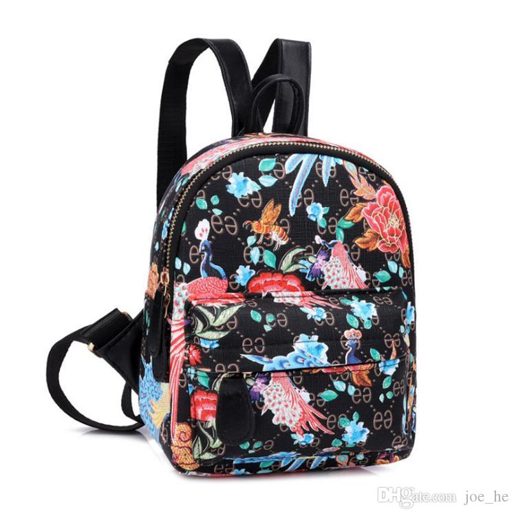 디자이너-60PCS / 많은 귀여운 여성 배낭 청소년 여자 어린이 미니 다시 팩 가와이이 여자 아이 작은 배낭 여성 Packbag