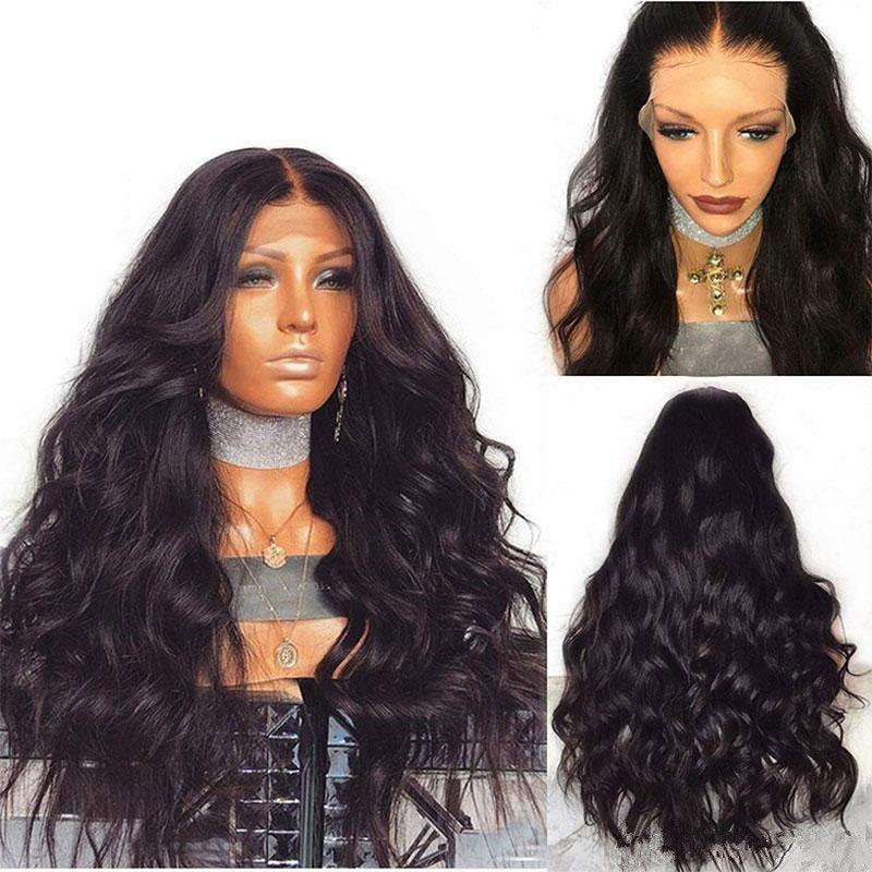 Brésilien Body Wave Lace Front Perruques De Cheveux Humains Pour Les Femmes Pré Plucked Brésilienne Vierge Perruques Blanchis Noeuds Bébé Cheveux
