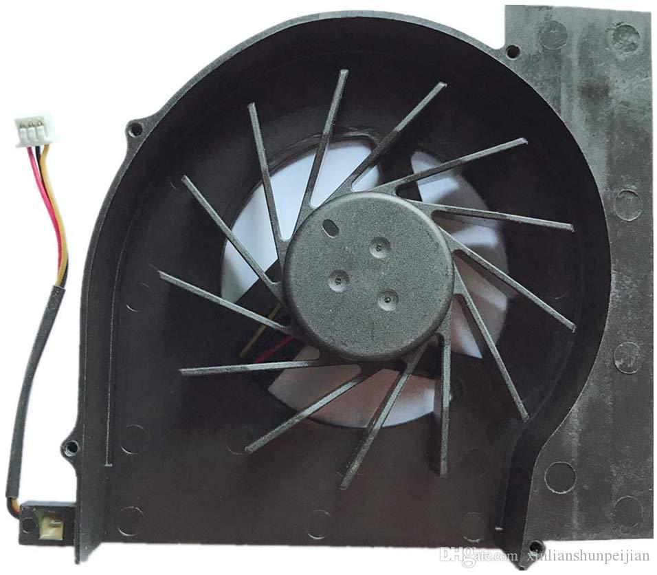 Laptop CPU-Lüfter Kühler für HP CQ61-327TX CQ61-328TX CQ61-223TX CQ61-110TU KSB06105HA-8K35-Serie kipo kipo055613L1S 531941-001