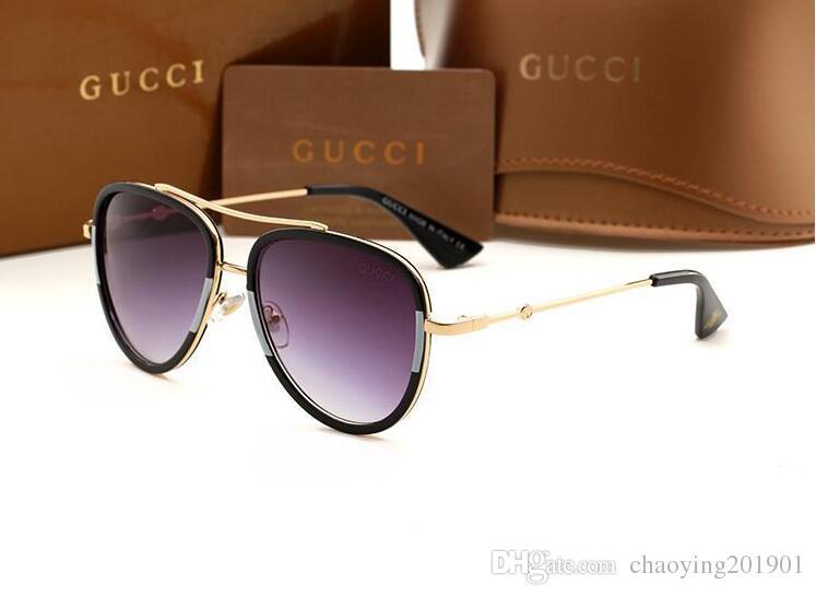 Yüksek Kalite Marka Güneş gözlüğü erkek Moda Kanıt Güneş Tasarımcı Gözlük mens için Kadın Güneş yeni gözlükler