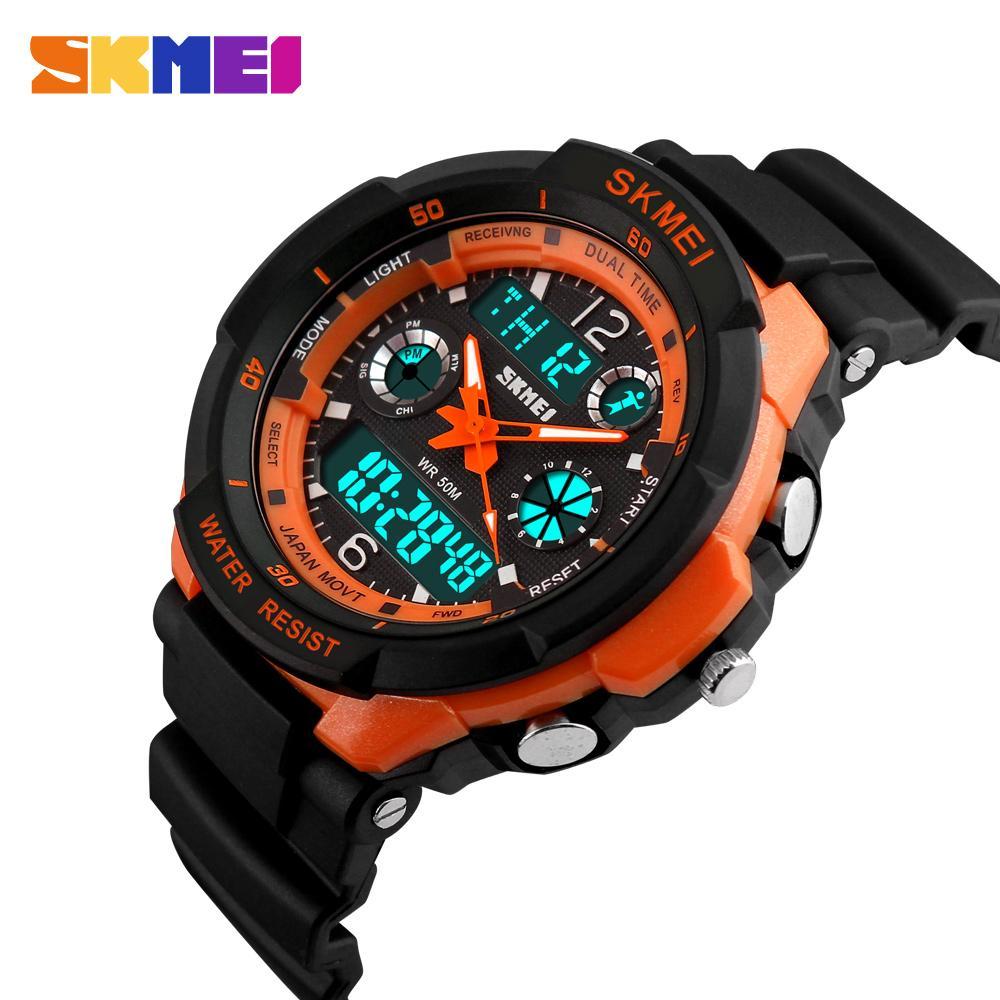 SKMEI Kids Watches Anti-Shock 5Bar Waterproof Outdoor Sport Children Fashion Digital Watch Relogio Masculino 0931 1060