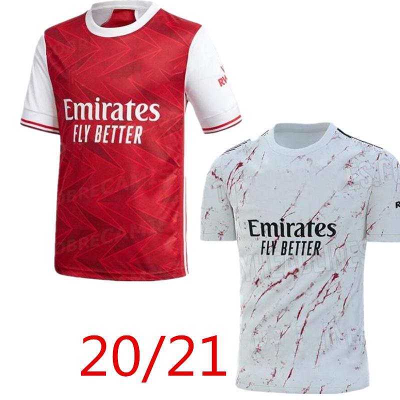 아르센의 축구 유니폼 (20) (21) PEPE NICOLAS 세발 로스 HENRY GUENDOUZI 소 크라 티스 MAITLAND - NILES 티어니 2020 2021 축구 셔츠 남성