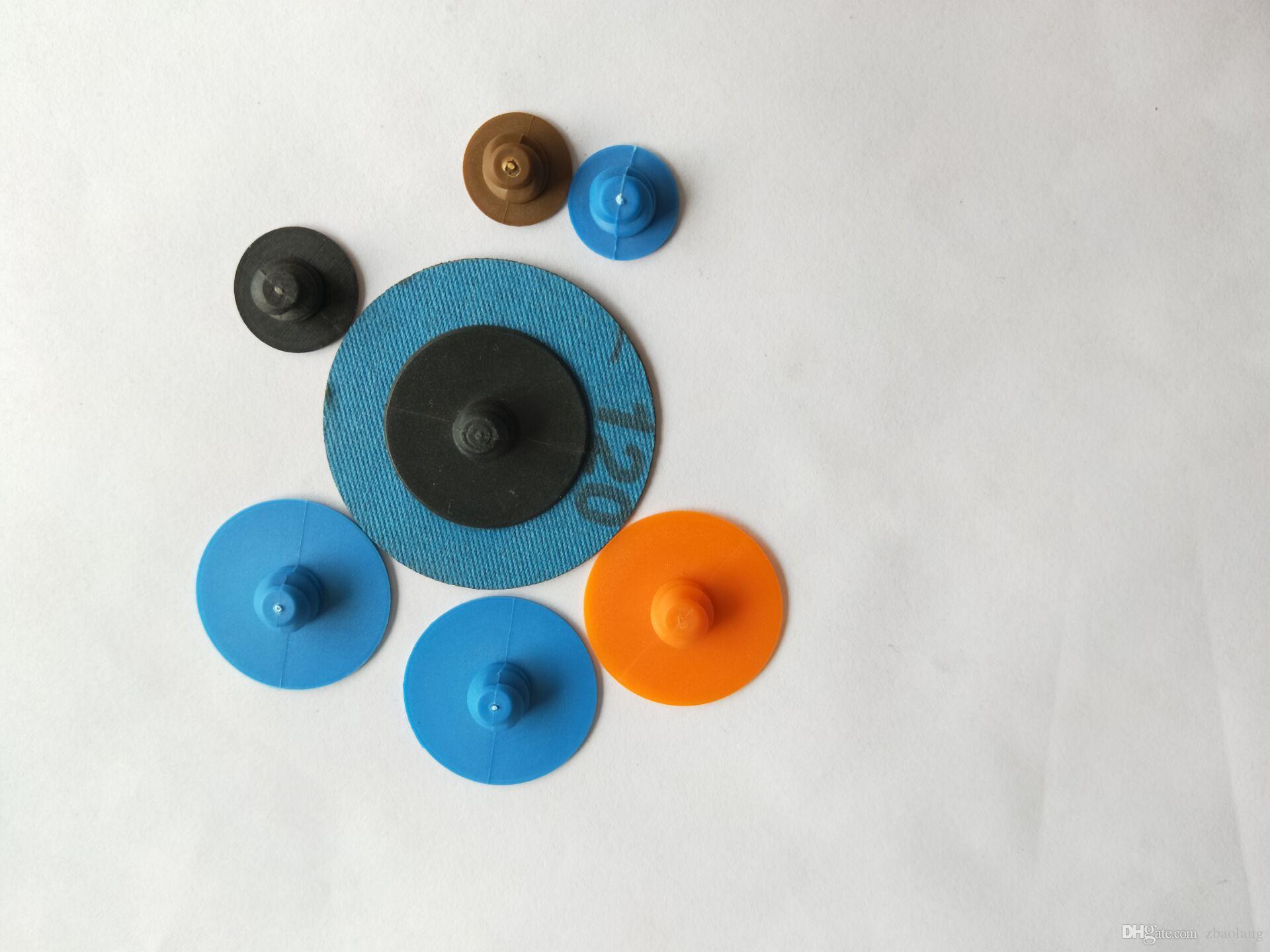 10000pcs / 30 mm Cambio rápido Tipo-R Botón de plástico para abrasivos