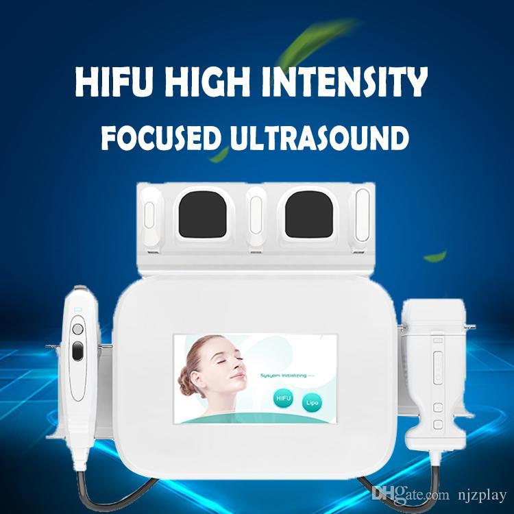 Высокая интенсивность 2 в 1 портативном Liposonix HIFU сфокусировала кожу ультразвука затягивая тело стороны уменьшая машину красотки неинвазивное анти-вызревание
