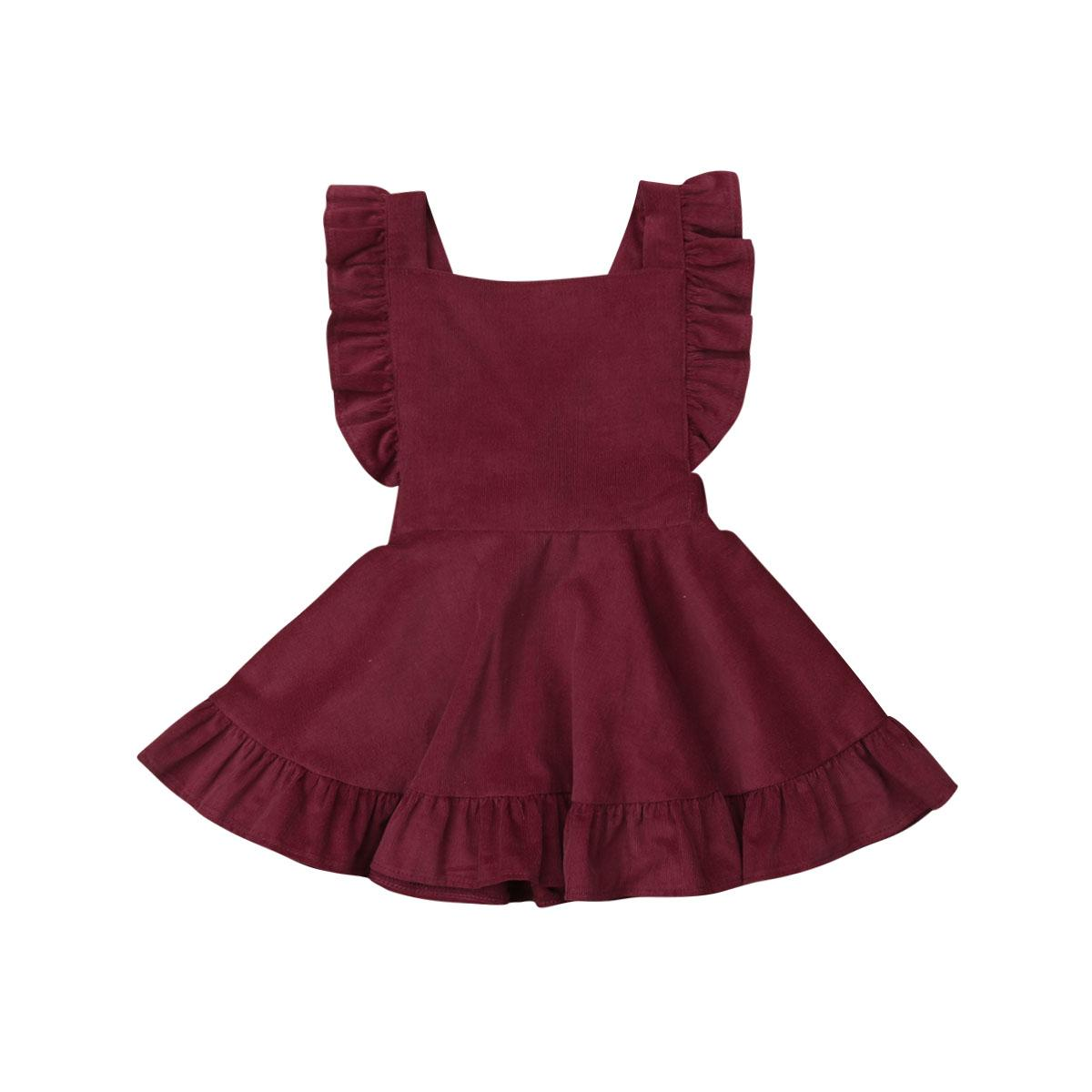 الوليد الاطفال طفلة الزهور فساتين الأميرة جميلة كودري فستان الشمس الملابس