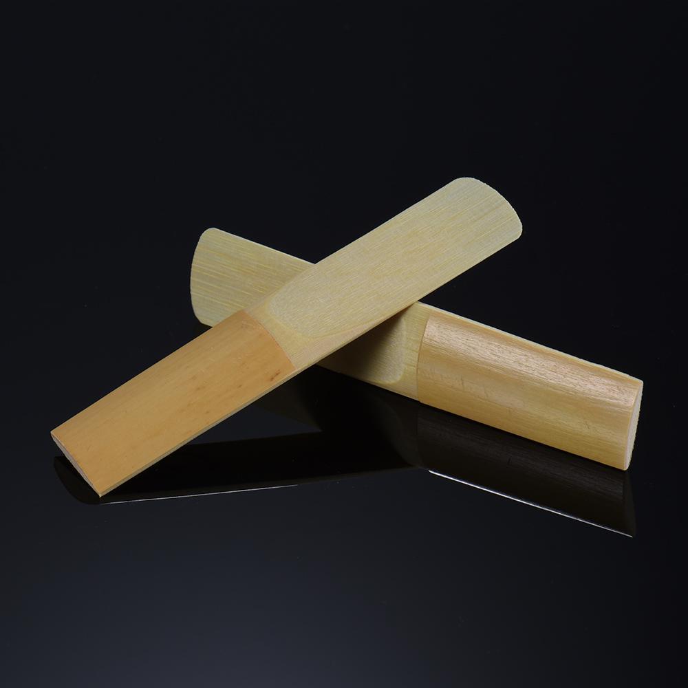 옵션 색소폰 액세서리 고품질 10PCS / 많은 비비 테너 색소폰 색소폰 대나무 갈대 강도 3.0 / 2.5 / 2.0