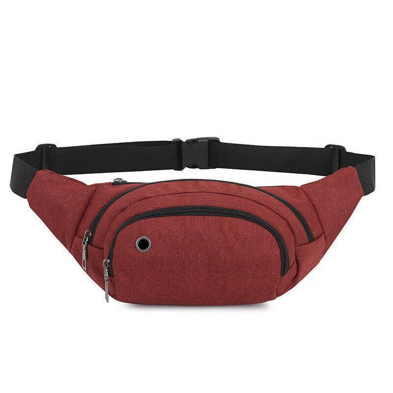 Unisex Durable Fanny Waist Pack Belt Hip Bum Military Tactical Running Bags
