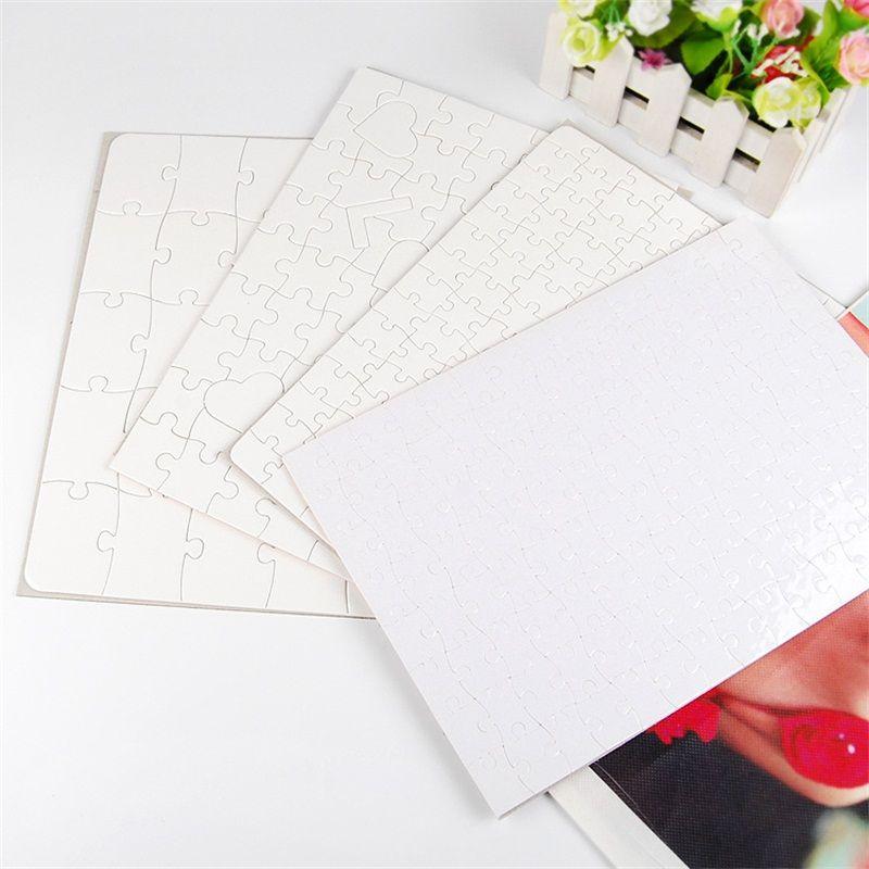 Blank puzzle di sublimazione Blanks Picture Puzzle modello regali personalizzati fai da te per i giochi per bambini Hot Sale 1 5xmb UU