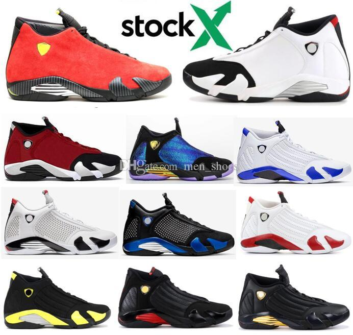 New 14 14s Gym Red Hyper Royal Black Toe Red Suede DB Doernbecher Men Basketball Shoes Last Shot Thunder DMP Sneakers With Box