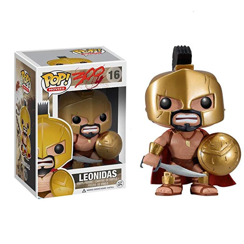 Funko pop King Leonidas 16# 300 The Movie Vinyl Action & Toy Figures Collectible Model Toy for Children SH190908