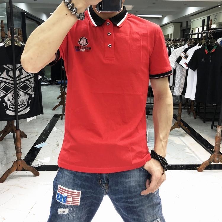 Лето Новая мода Тауренов персонажи граффити шаблон T Shirt Мужчины с коротким рукавом футболки Топы Тис Повседневная одежда Мужчины ~ CC1