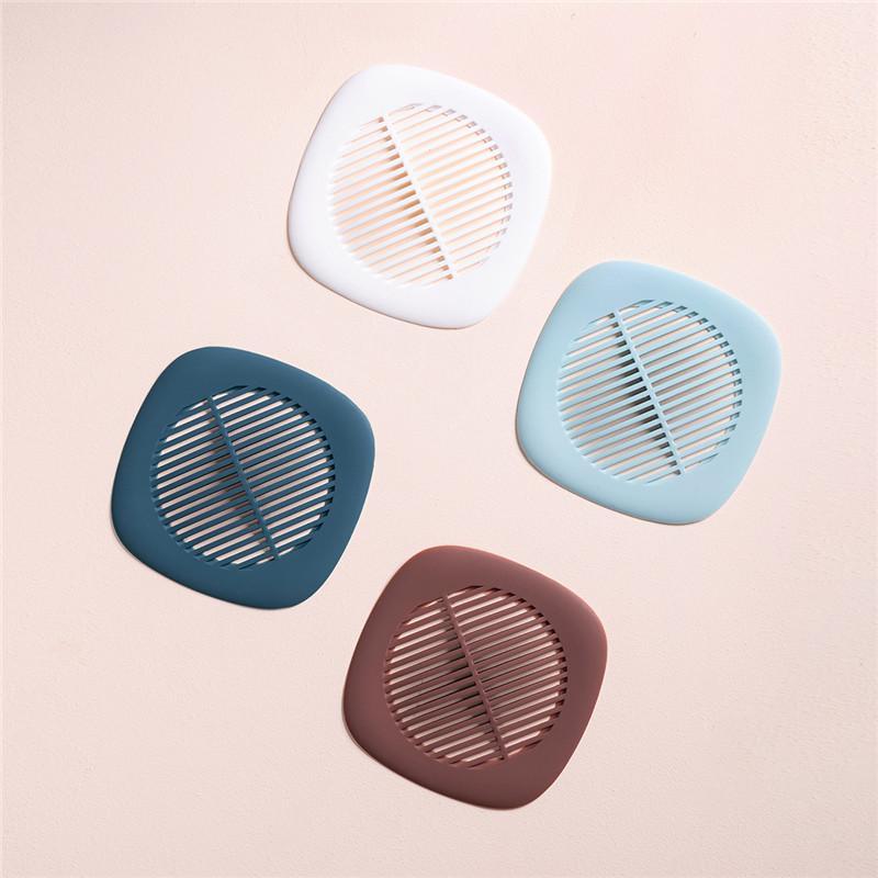 4 색 실리콘 싱크 여과기 하수구 필터 방지 바닥 방지 바닥 방지 헤어 스토퍼 부엌 욕실 무료 배송
