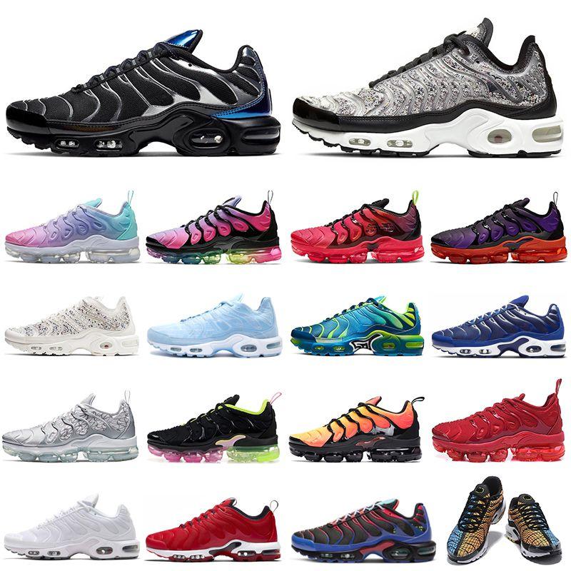 nike air max plus vapormax TN زائد الترا SE الاحذية الرجال النساء Chaussures الثلاثي أبيض أسود أمة الله الرجال المدربين حذاء رياضة 36-45