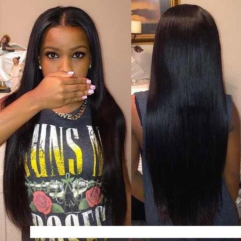 J 8a brasilianische Virigin Haar Gerade Menschenhaar-Verlängerungen 4bundles brasilianisches gerade Menschenhaar Weaves Gut gerade Menschen Tressen
