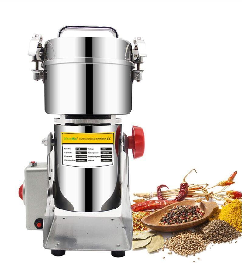 Granos Especias Hebals Cereales Café Alimentos Dry Grinder Molino Máquina Máquina Grist Mistmill Inicio Medicina Harina Powder Trituradora